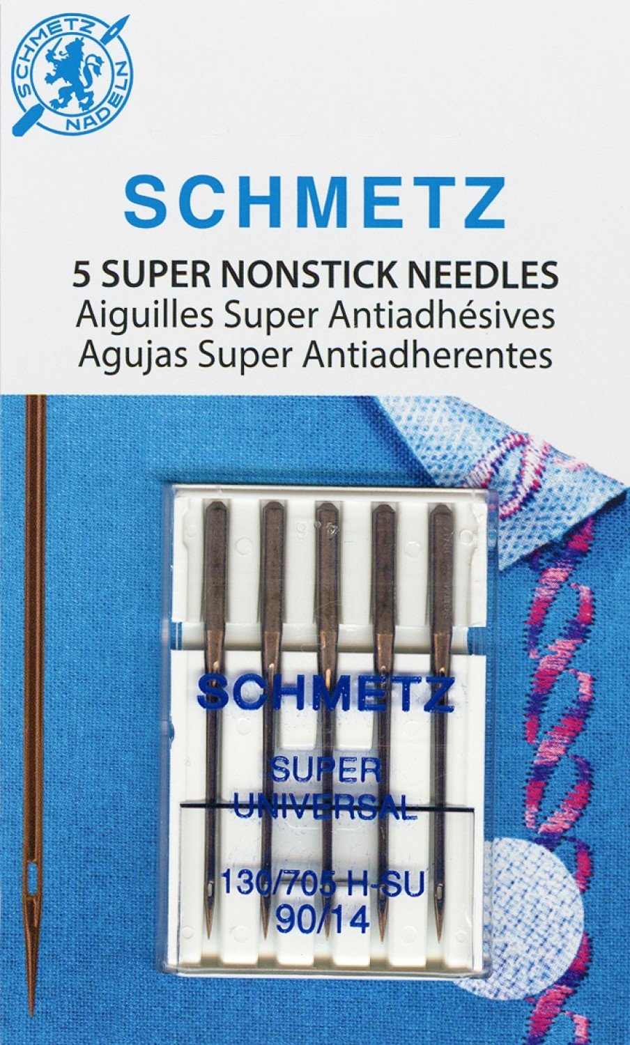Super Nonstick Needles 90/14  - Set of 5
