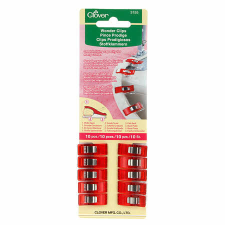 Wonder Clips - Red - 10 count