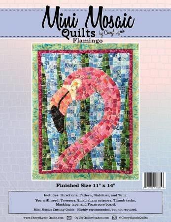 Flamingo Mini Mosaic Pattern