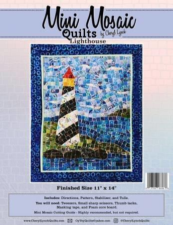 Lighthouse Mini Mosaic Pattern