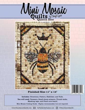 Queen Bee Mini Mosaic Pattern