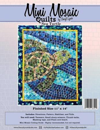 Sea Turtle Mini Mosaic Pattern