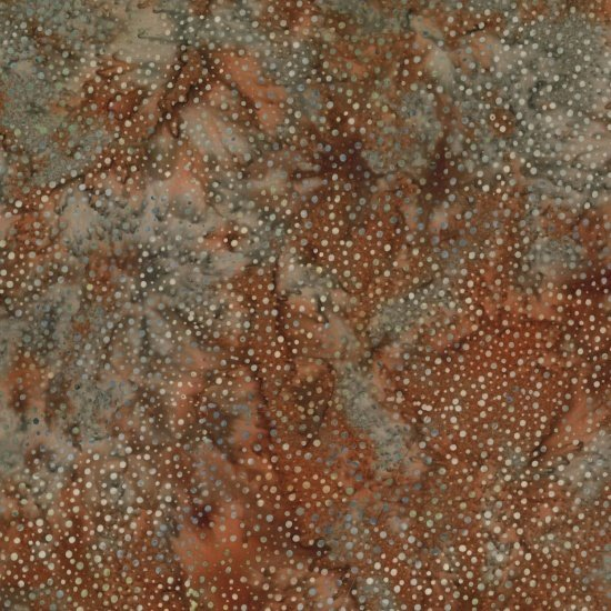 885-52 Cinnamon Hoffman Bali Chops Batik Cotton Fabric