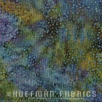 Xxx 885-324 Dragonfly Hoffman Bali Chops Batik Cotton Fabric by Yard