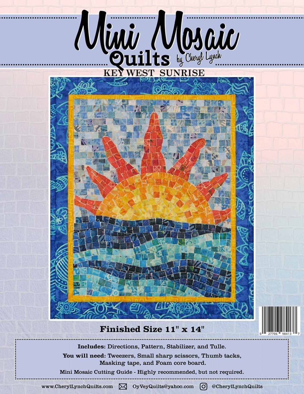 Key West Sunrise Mini Mosaic Patterns