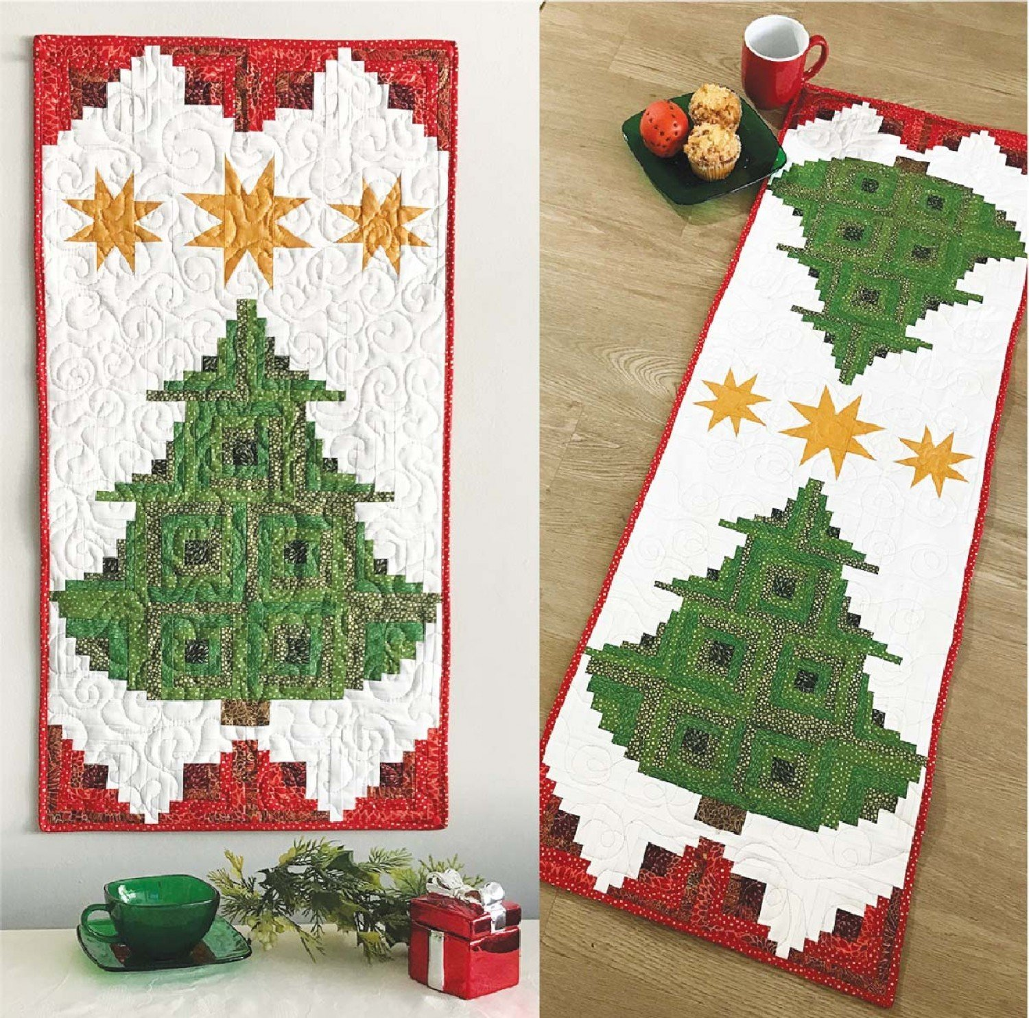 Christmas Tree Table Topper Quilt Demo - Saturday September 29 - 3:15 pm