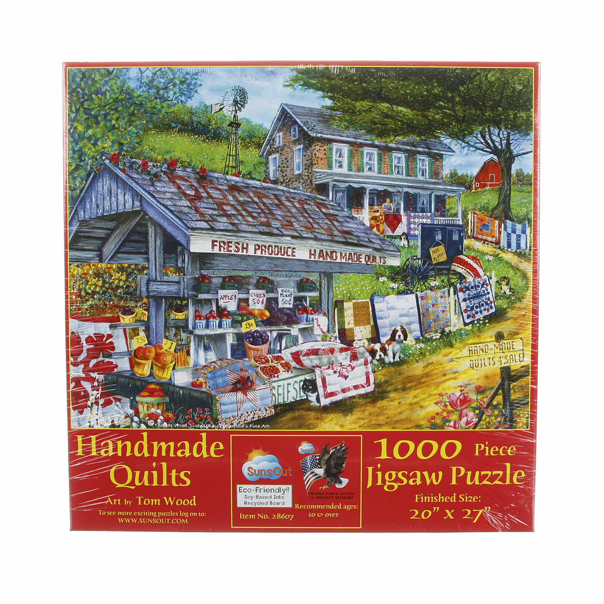 PUZZLE HANDMADE QUILTS 1000PC