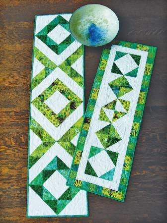 FRATERNAL TWINS TABLE RUNNERS PATTERN
