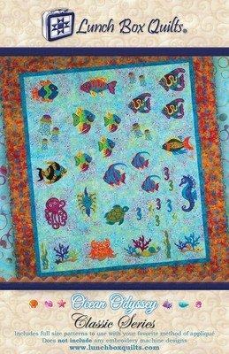 Classic Series Ocean Odyssey Applique Quilt Pattern