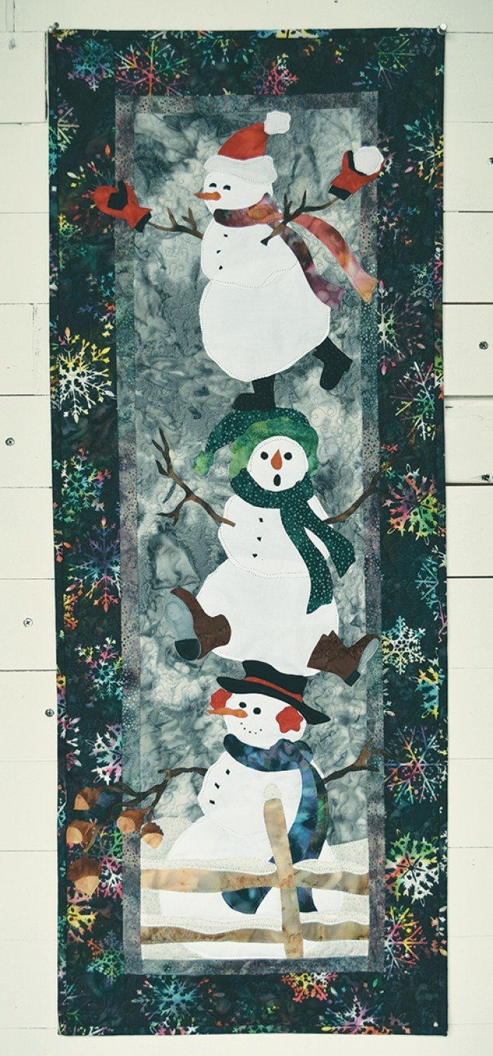 McKenna Ryan Snowman Kit w/ Pattern