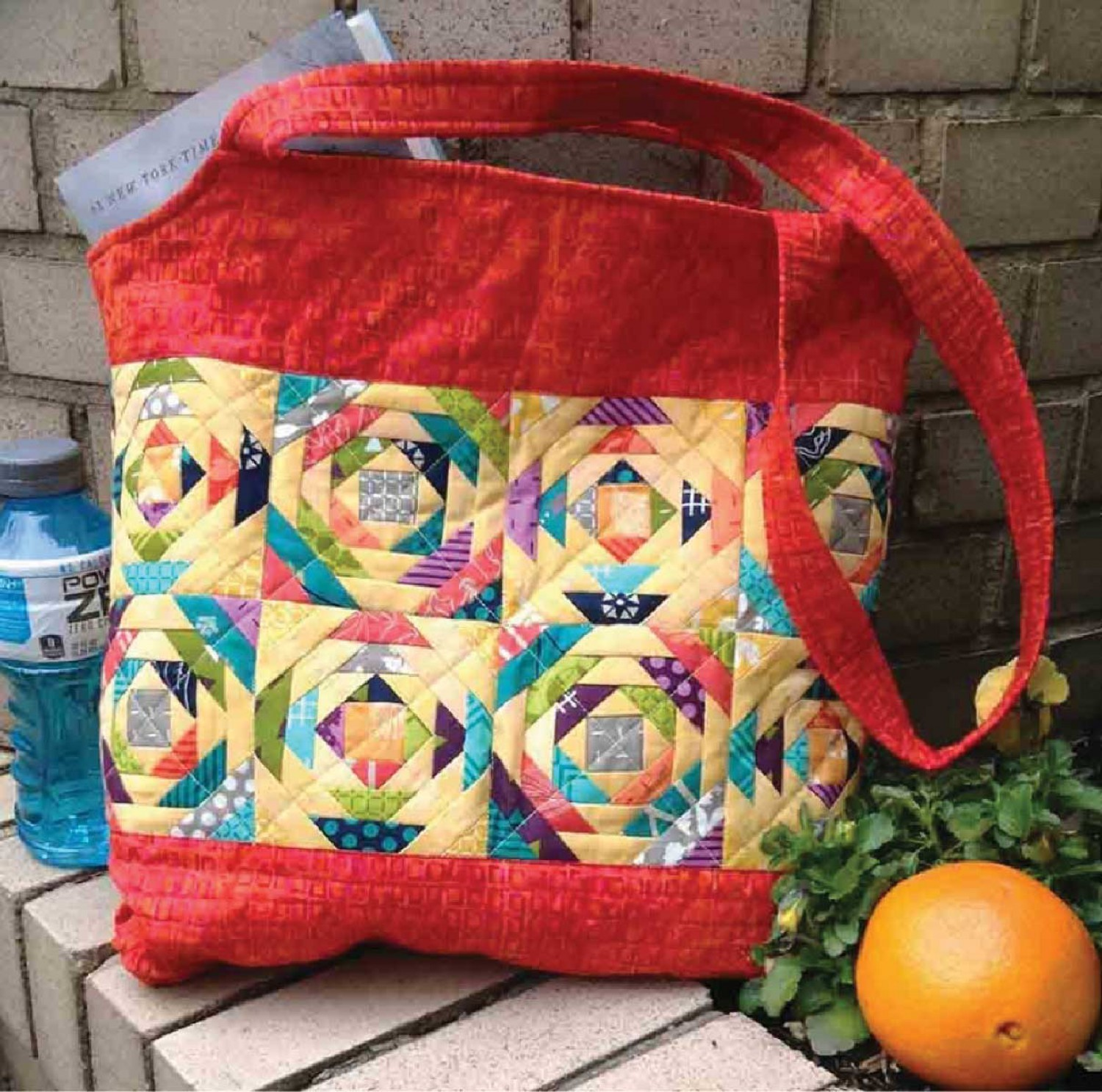 Pineapple Sizzle Tote Pattern