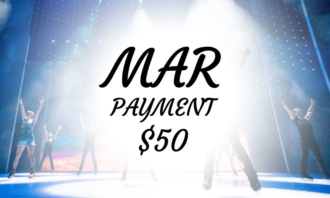 Ice Show - MAR PAYMENT