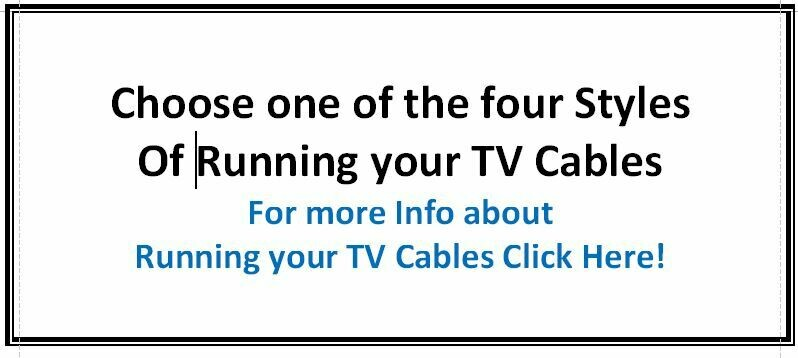 Choose 1 of the 4 styles of running TV Cables
