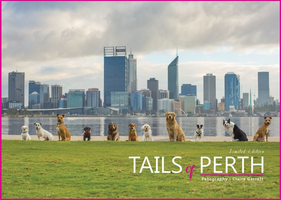 TAILS OF PERTH Limited edition Coffee Table Book. 0002710