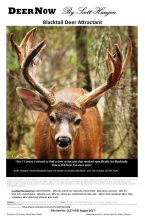 DeerNow Blacktail 5# - FREE SHIPPING 00001