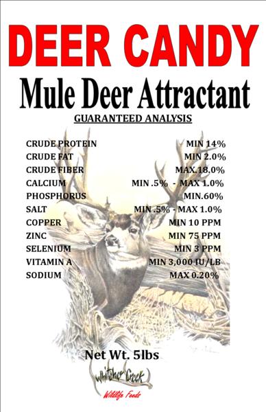 Deer Candy - Mule Deer 5# - FREE SHIPPING 00002