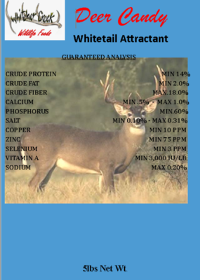 Deer Candy - White Tail 5# - FREE SHIPPING