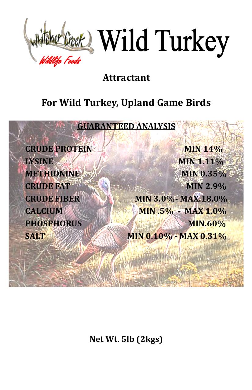 Deer Candy - Wild Turkey 5# - FREE SHIPPING