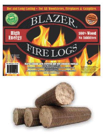 HIGH ENERGY FIRE LOGS EACH 393/Pallet 00097