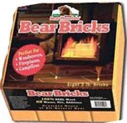 BEAR BRICKS 3 POUNDS EACH