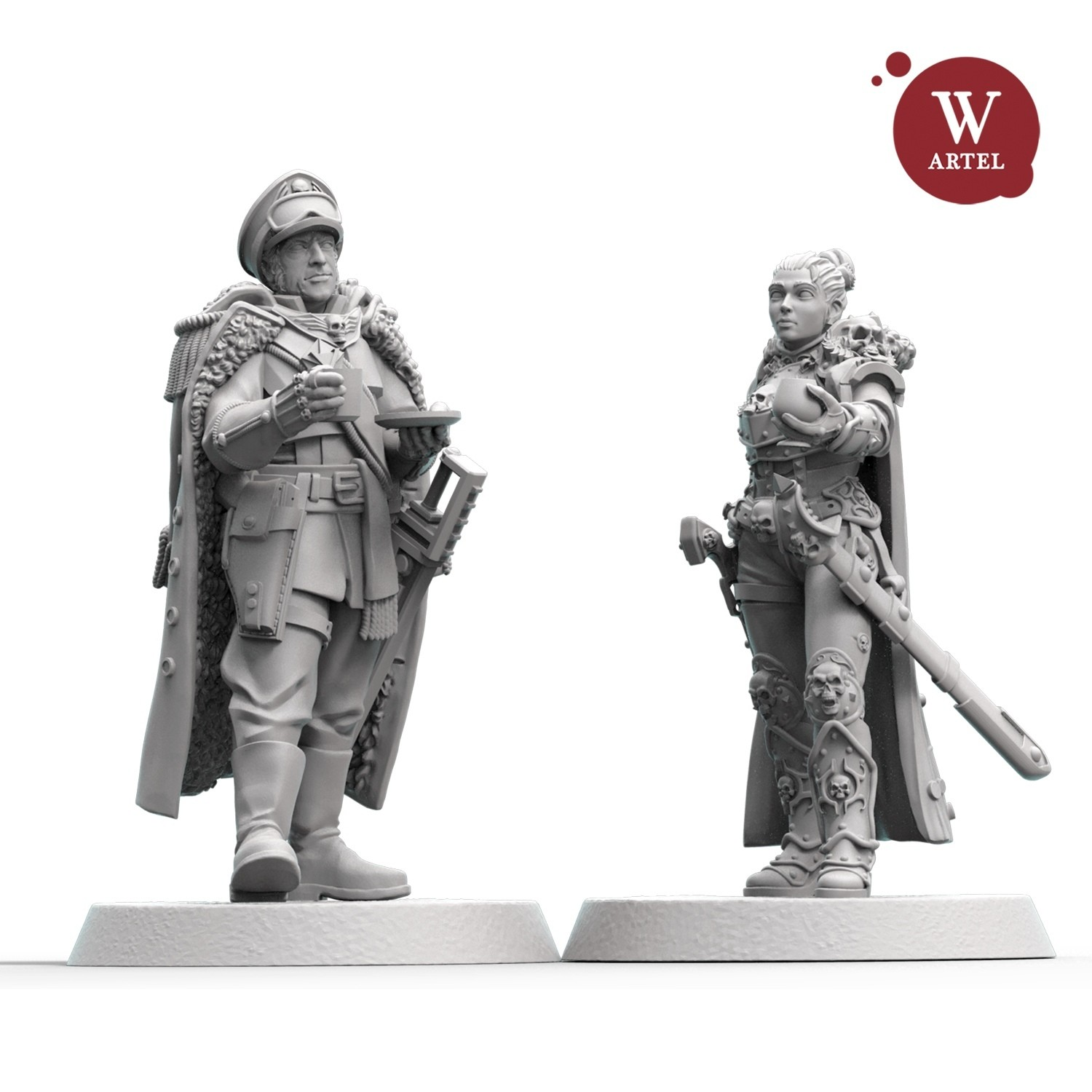 Friendship Bundle: Heroic Commissar2.0 and Lady-Inquisitor Bale