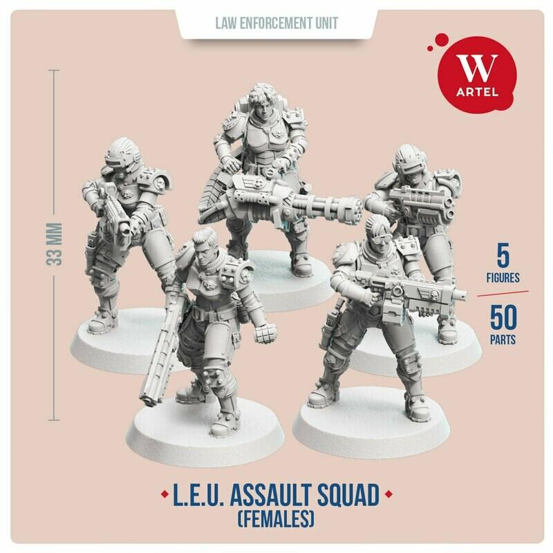 L.E.U. - Assault Squad (Female Enforcers)