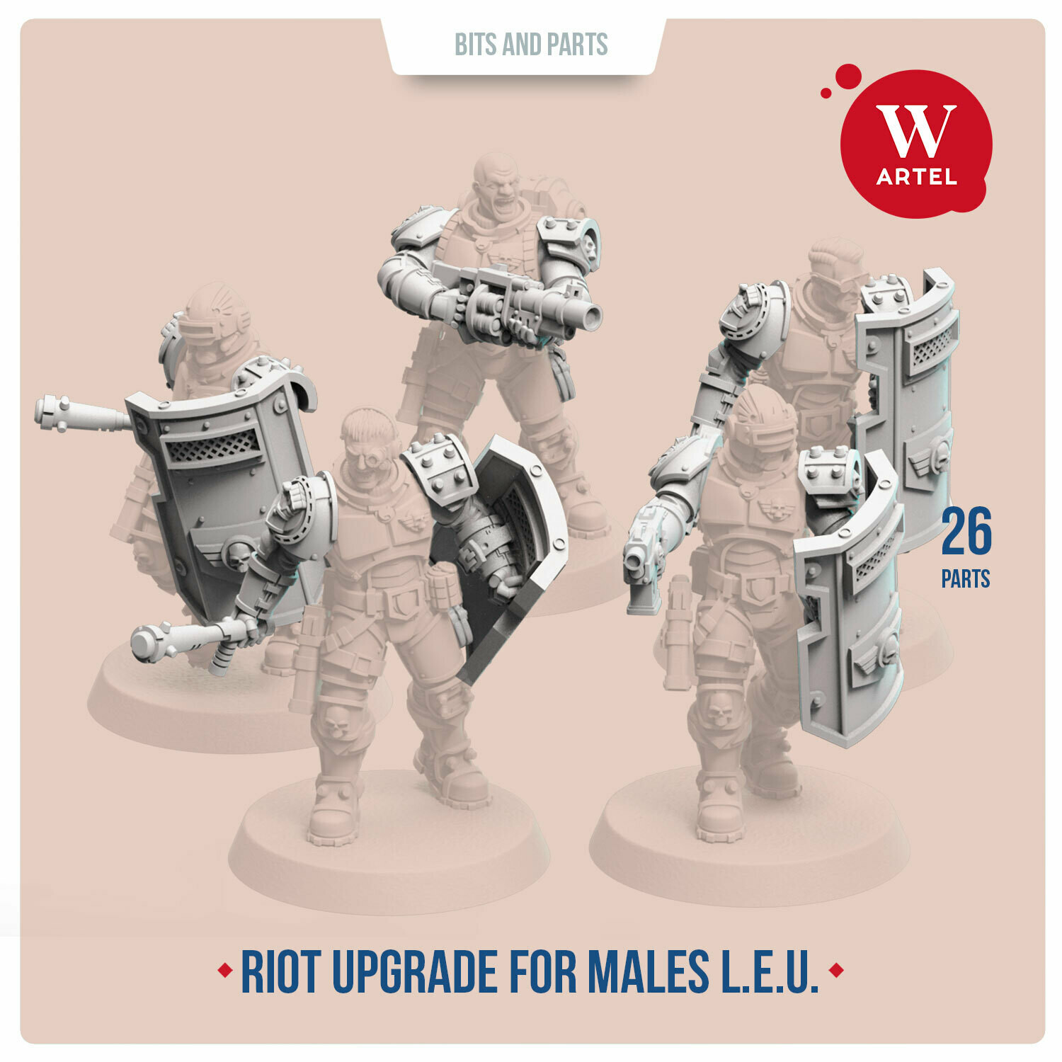 Riot Control Upgrade Pack for Male Enforcers