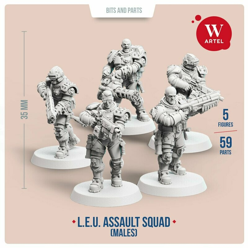 L.E.U. - Assault Squad (Male enforcers)
