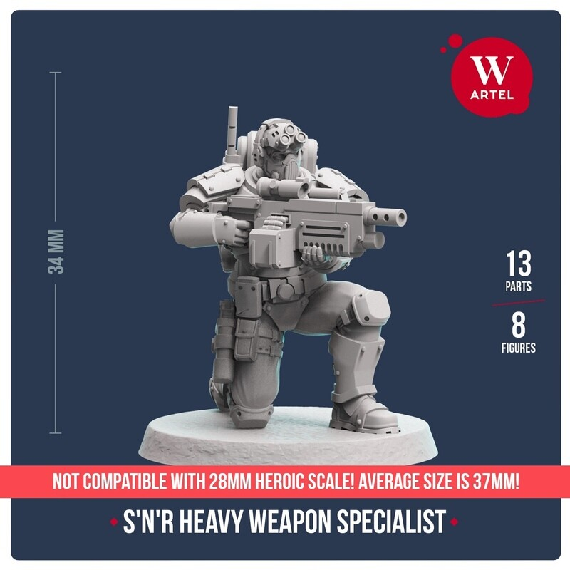 Scout`n`Recon Heavy Weapon Specialist