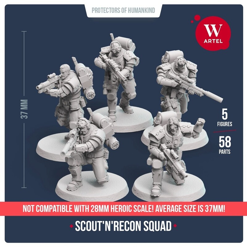 Scout`n`Recon Squad (5 scouts)