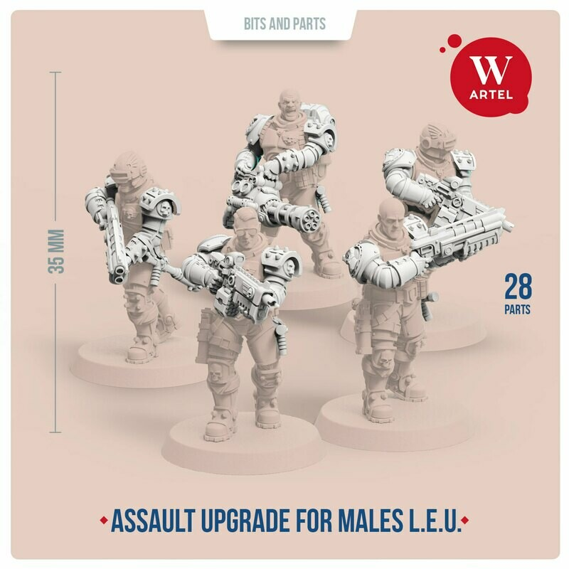 Assault Upgrade Pack for Male Enforcers