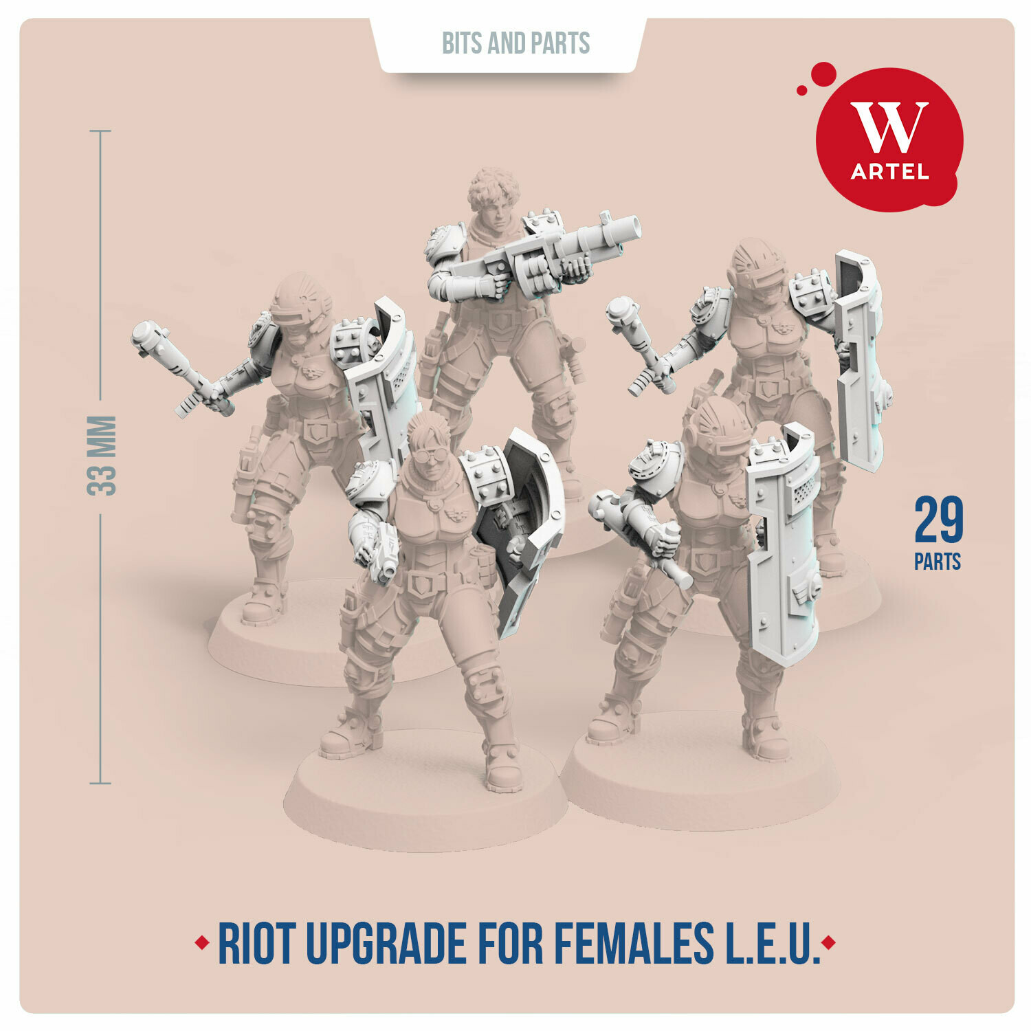 Riot Control Upgrade Pack for Female Enforcers