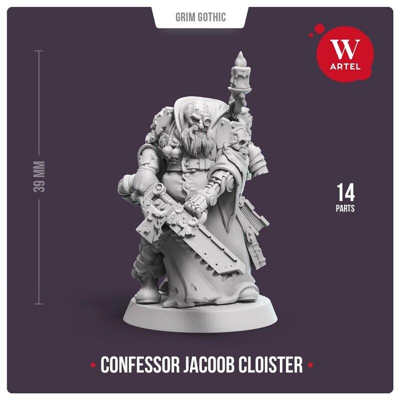 Confessor Jacoob Cloister