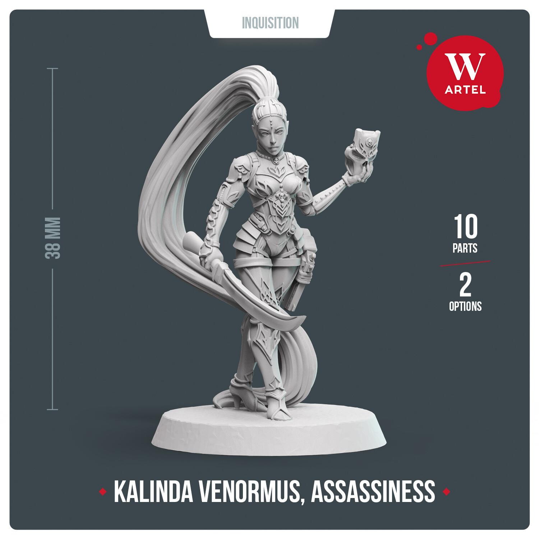 Kalinda Venormus, Assassiness