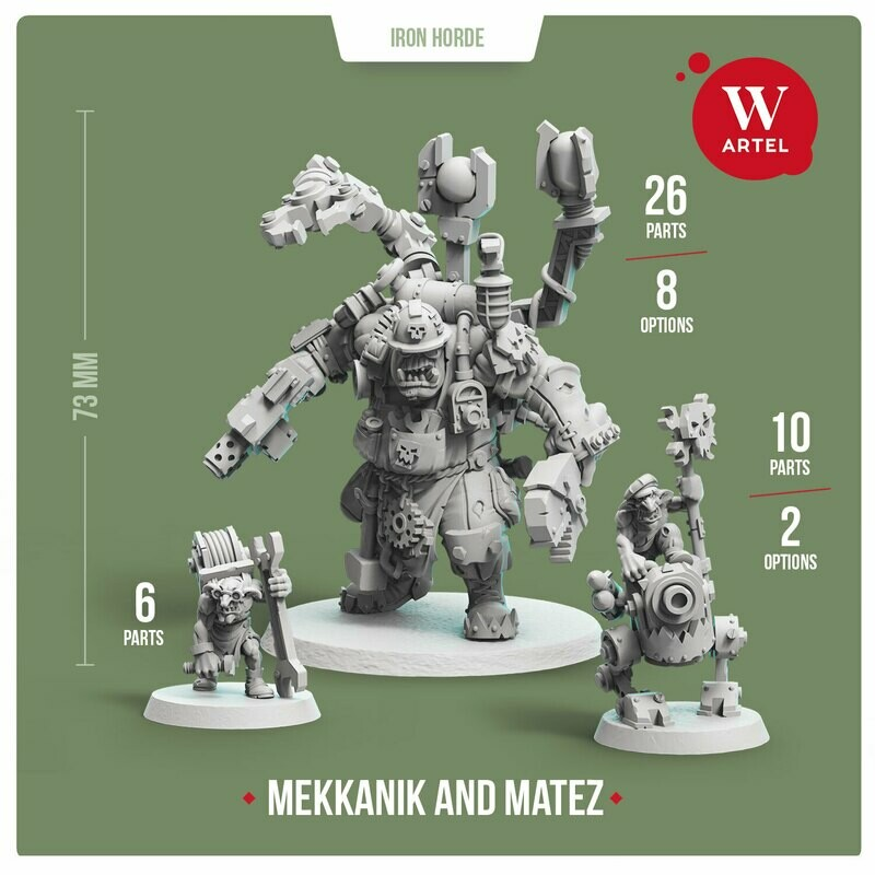 Mekkanik of Iron Horde (with Matez)