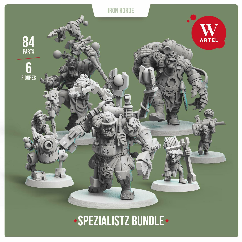 Iron Horde Spezialistz Bundle