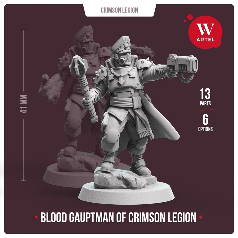 Blood Gauptman of Crimson Legion