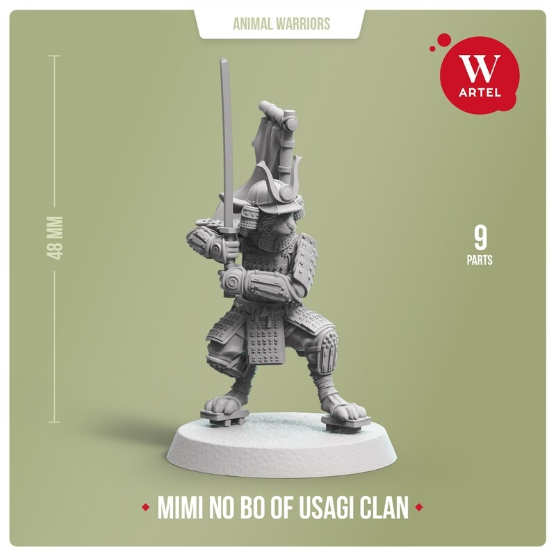 Mimi no Bo, warrior of Usagi Clan