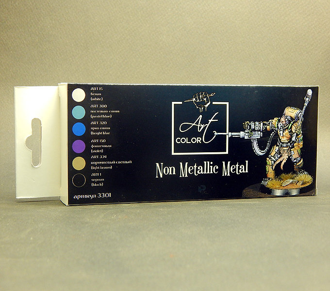 Art Color Non Metallic Metal for miniatures