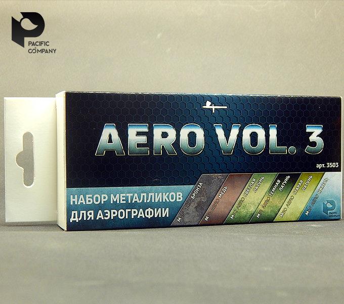 Metallic vol.3 set for airbrush