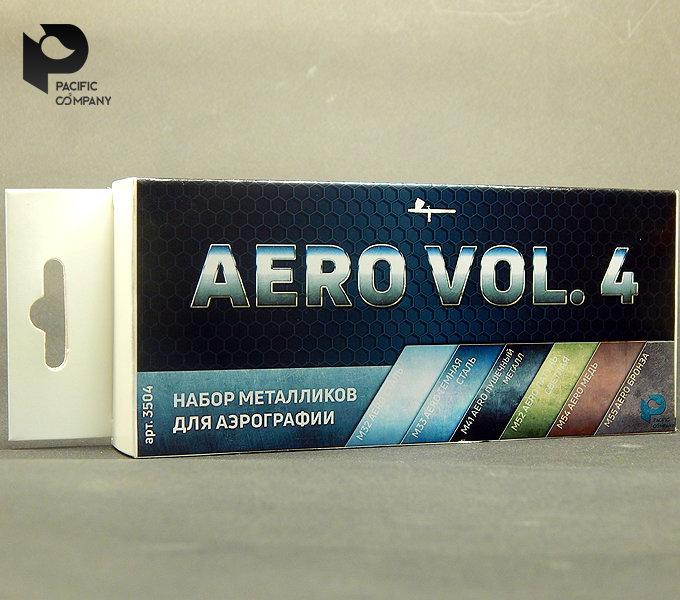 Metallic vol.4 set for airbrush