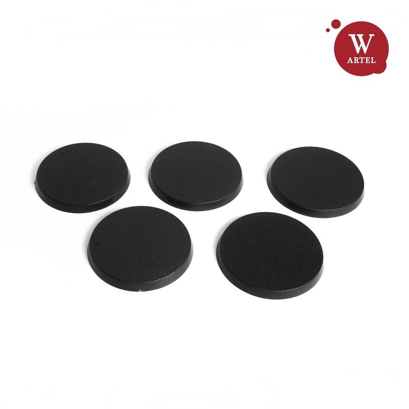 5x40mm round bases for miniatures