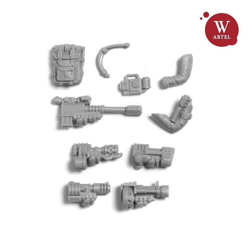 Einherjar`s Specia/Heavy weapon conversion kit