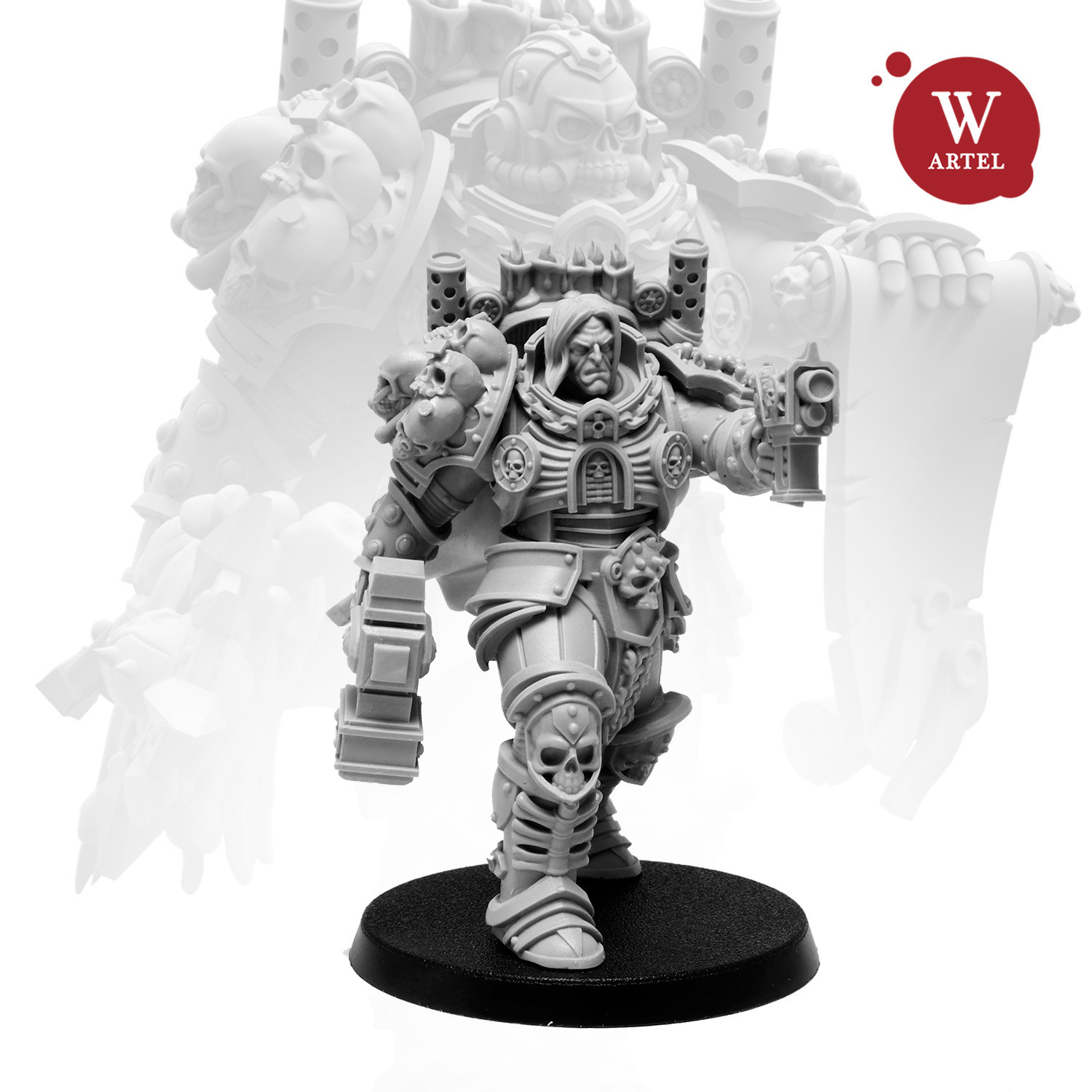 Unforgiving Chaplain 54mm !LIMITED EDITION!