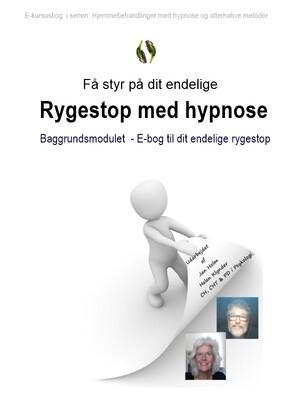 Gratis moduler:  Få styr på dit rygeSTOP med hypnose som hjemmebehandling