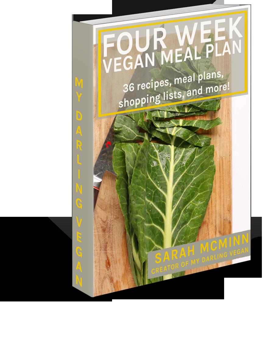 4 Week Vegan Meal Plan 00002