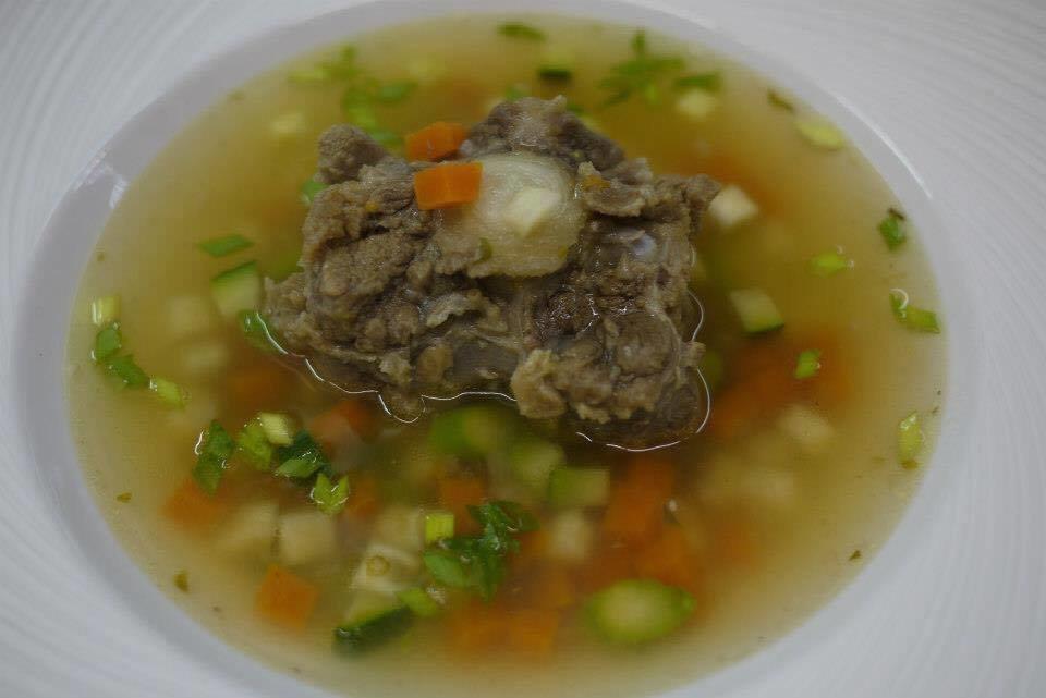 Суп похмельный взрослый из бычьих хвостов