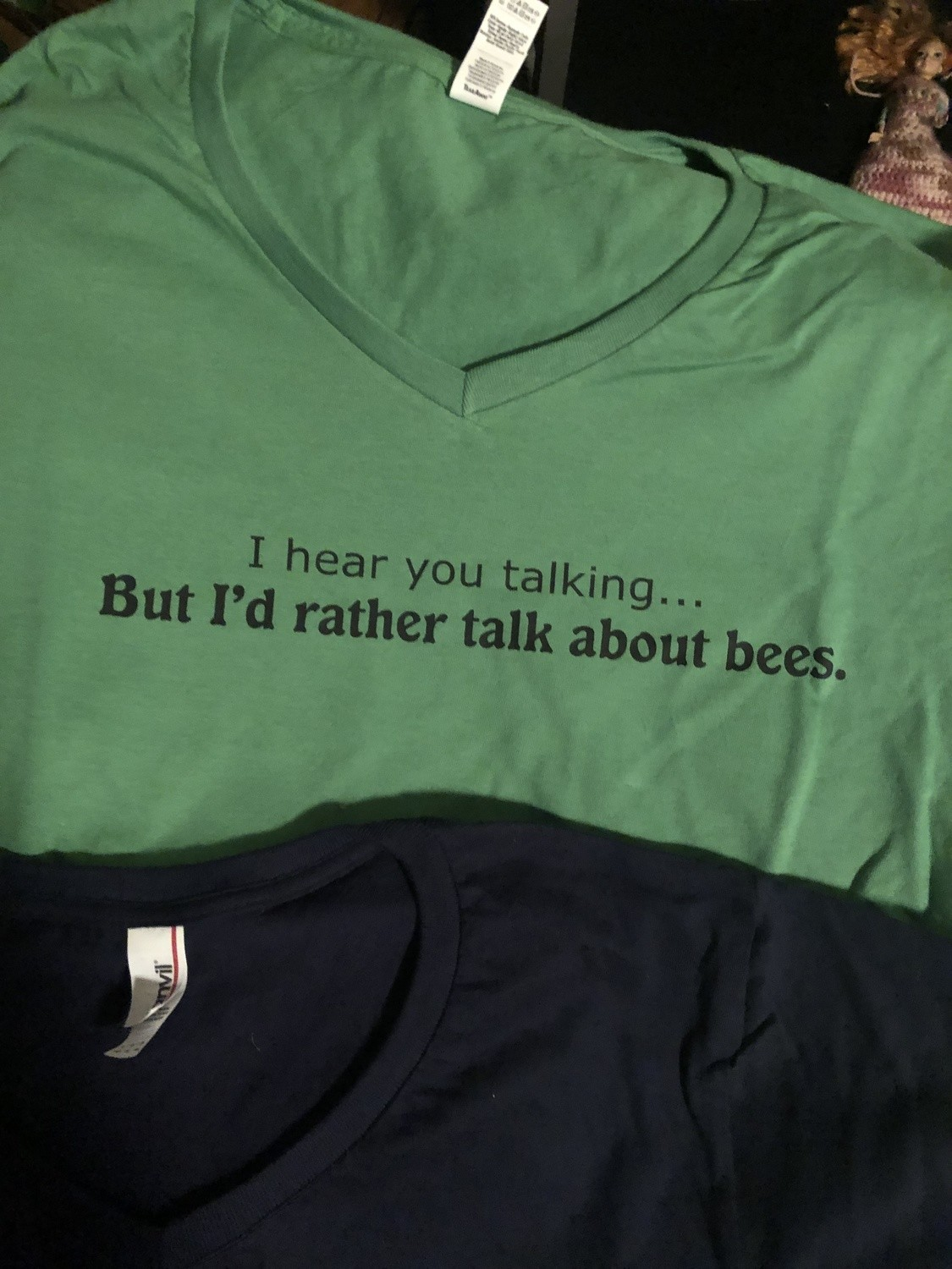 RATHER TALK ABOUT BEES GREEN