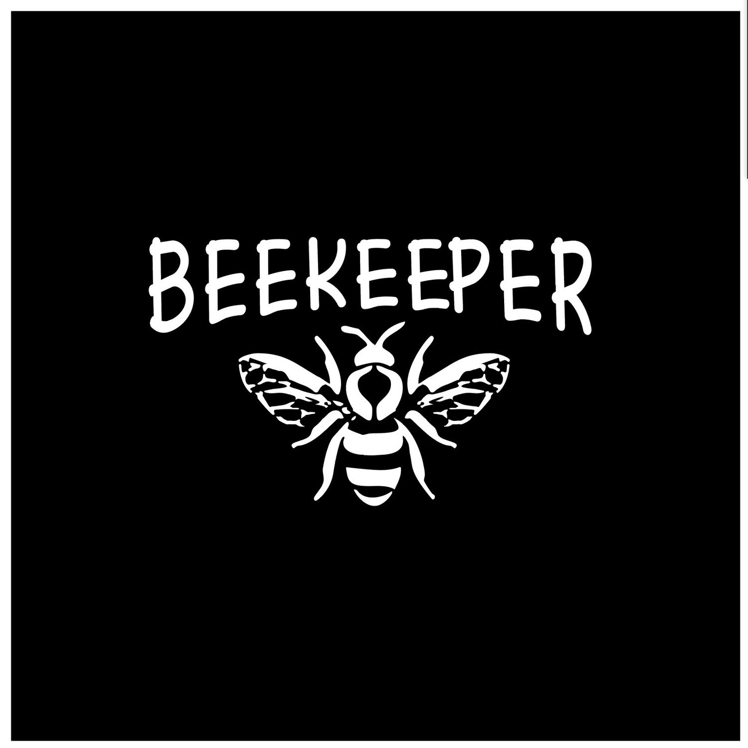 BEEKEEPER DECAL - BEE