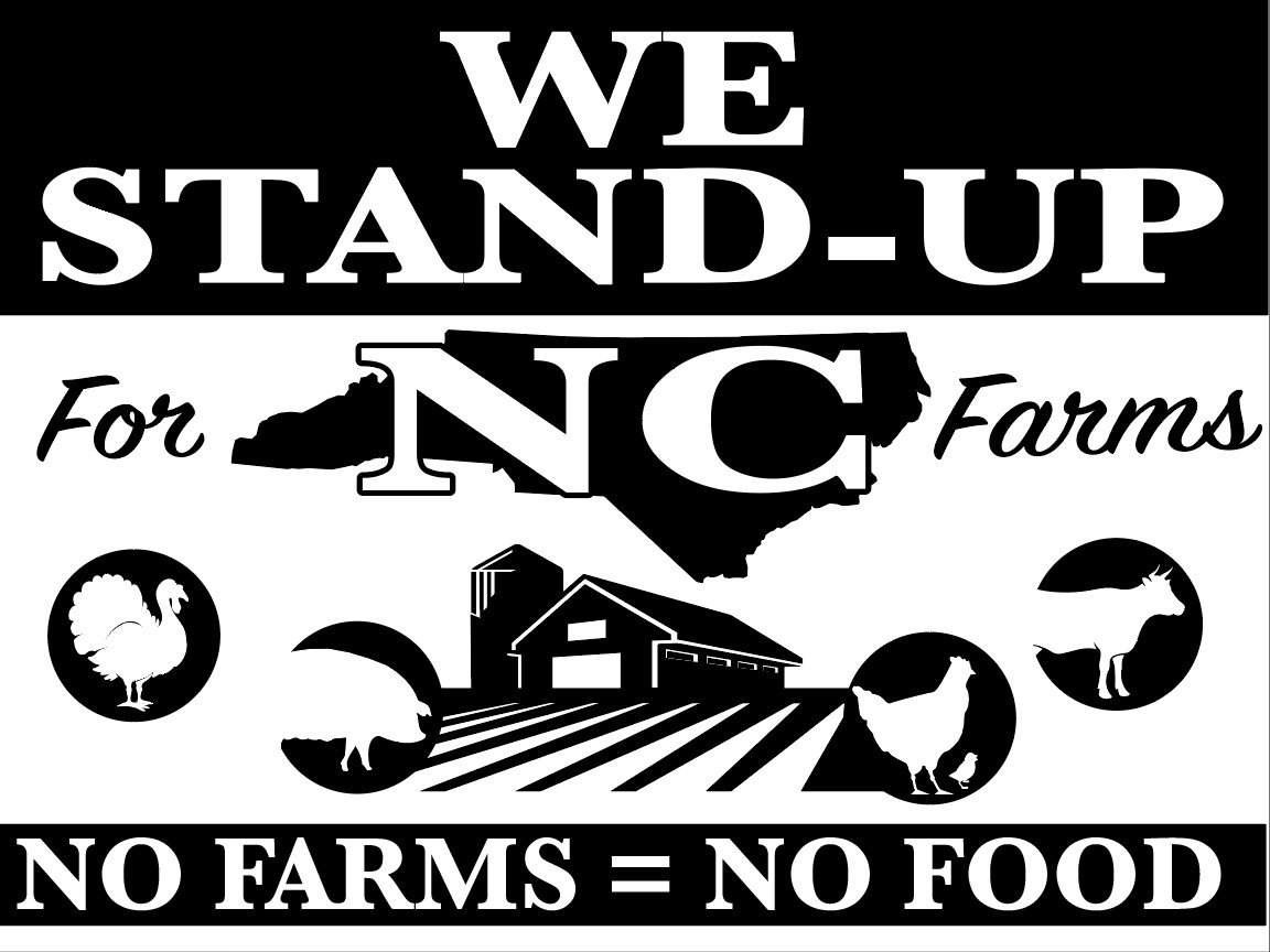 STAND UP for NC -100 signs - $6.95 EACH  FREE SHIPPING!